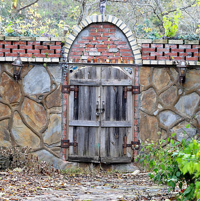 Eureka Springs Photograph - Ozark Gate by Jan Amiss Photography
