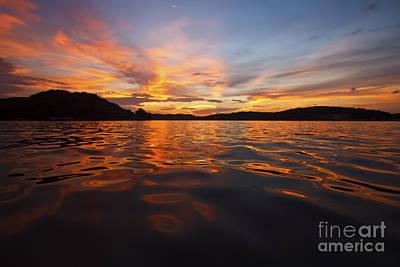 Ozarks Photograph - Ozark Sunset by Dennis Hedberg