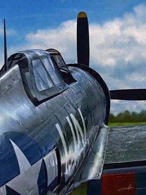 P-47 Thunderbolt Print by Dale Jackson