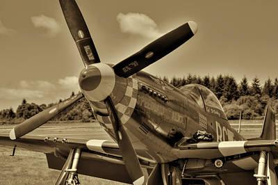 P-51 Mustang II Print by David Patterson