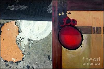 Abstract Art Painting - p HOTography 82 by Marlene Burns