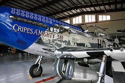 P51 Mustang Blue Original by Chris Smith