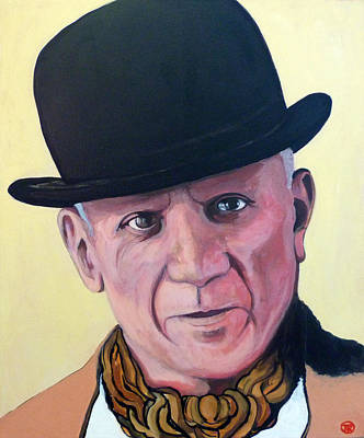 Picasso Painting - Pablo Picasso by Tom Roderick