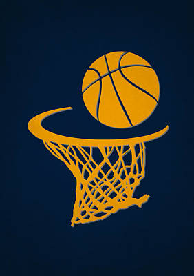 Indiana Photograph - Pacers Team Hoop2 by Joe Hamilton