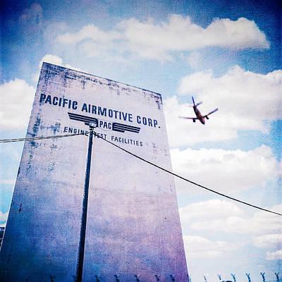 Pacific Airmotive Corp 10 Print by YoPedro