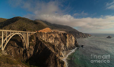 Big Sur California Photograph - Pacific Coastal Highway by Mike Reid