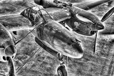 Us Army Fighters Photograph - Pacific Knights by JC Findley