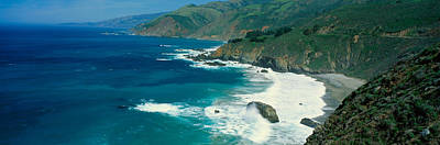Lands End Photograph - Pacific Ocean, Northern California by Panoramic Images