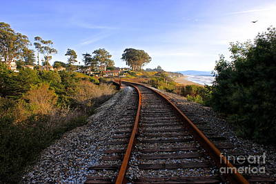 Pacific Rail Print by Shannan Peters