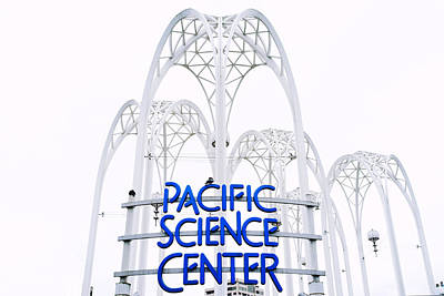 Pacific Science Center Print by Tanya Harrison