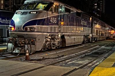 Pacific Surfliner 4-5-6 Print by See My  Photos