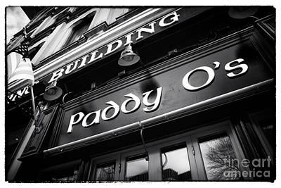 Paddy O's Print by John Rizzuto