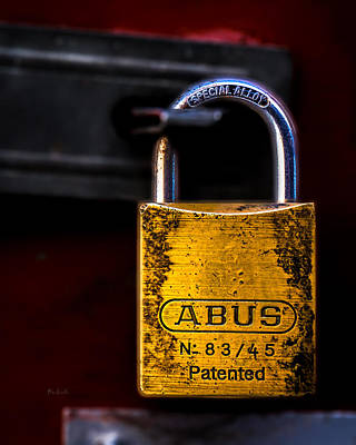 Metal Photograph - Padlock by Bob Orsillo