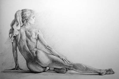 Young Girl Nude Drawing - Page 16 by Dimitar Hristov