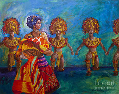Filipino Painting - Paghidaet by Paul Hilario