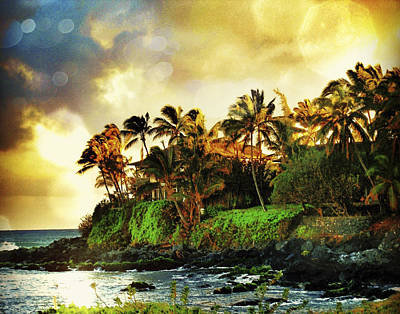Paia Sunrise Print by Stacy Vosberg