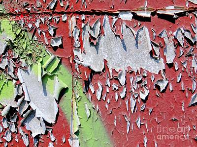 Paint Abstract Print by Ed Weidman