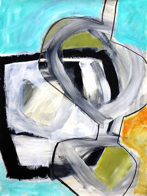 Fat Painting - Paint Improv 12 by Jane Davies