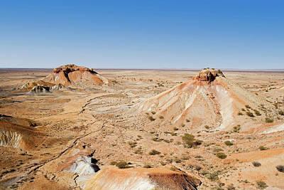 Painted Desert Photograph - Painted Desert, Arkaringa by David Wall