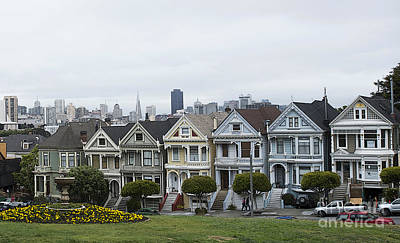 Painted Ladies Print by David Bearden