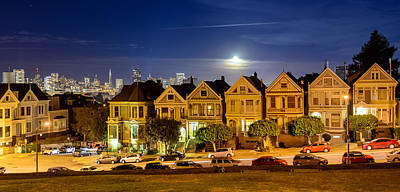 Painted Ladies Print by Mike Ronnebeck