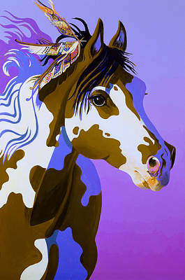 Abstract Realism Painting - Painted Lady by Bob Coonts