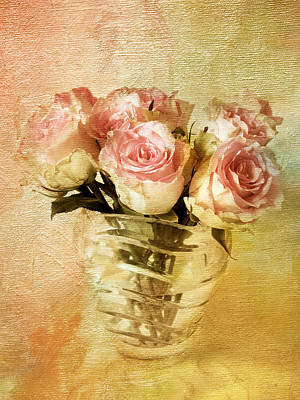 Painted Roses Print by Jessica Jenney
