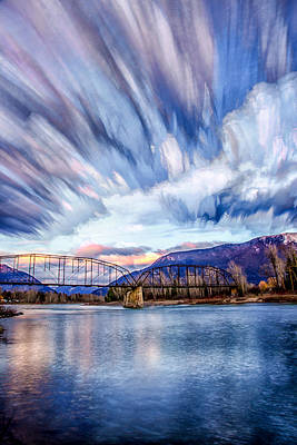 Montana Landscape Photograph - Painted Skies by Aaron Aldrich