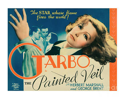 Painted Veil Movie Poster - Garbo Print by MMG Archive Prints