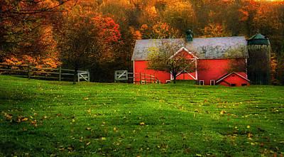 Autumn Dreams - Dorset Vermont Print by Thomas Schoeller