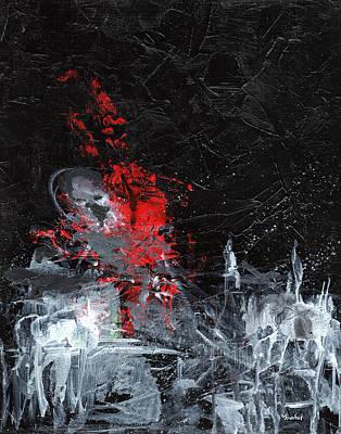 Painting Death Print by Sean Seal