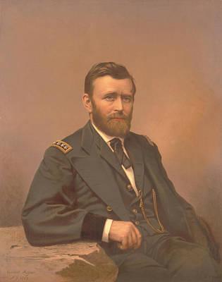 Pride Painting - Painting Of Lieutenant General Ulysses by Stocktrek Images