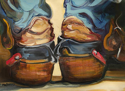 Pair Of Boots Original by Diane Whitehead