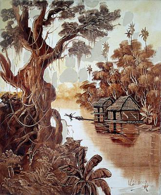 Paisaje Del Amazonas Original by W   Galiano