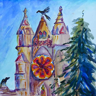 Palace Of The Pine Original by Beverley Harper Tinsley