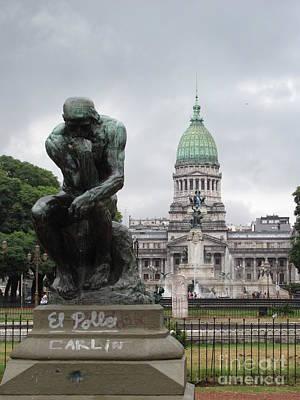 Politics Photograph - Palacio Del Congreso De La Nacion by Greg Mason Burns