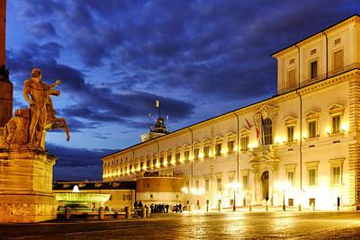 Palazzo Del Quirinale Print by Fabrizio Troiani