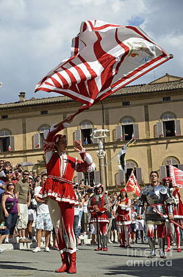 Photograph - Palio Parade On Piazza Del Duomo by Sami Sarkis