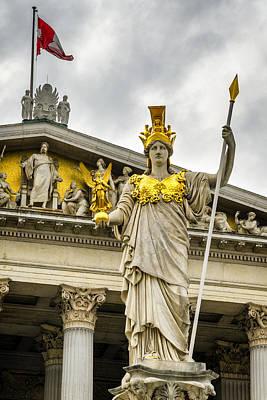Greek Goddess Nike Photograph - Pallas Athene Brunnen by Pablo Lopez