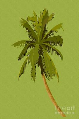 Palm Breeze Print by Tina M Wenger