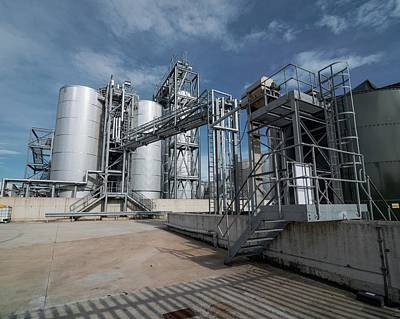 Food Stores Photograph - Palm Oil Refinery by Robert Brook