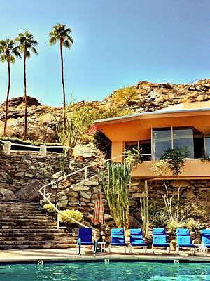 Landscapes Photograph - Palm Springs Pool by Julie Gebhardt