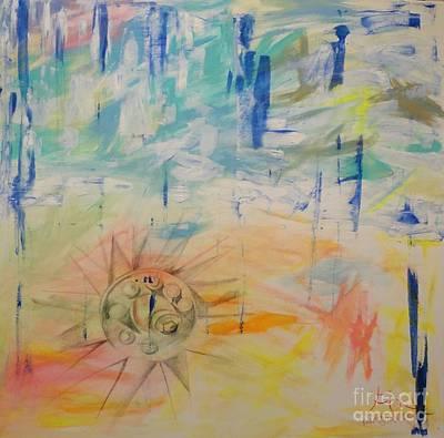 Morn Painting - Palmyra Ne Sunrise by PainterArtist FIN