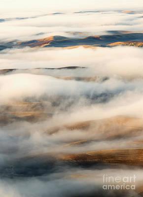 Palouse Fog Clears Original by Mike Dawson