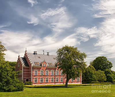 Helsingborg Photograph - Palsjo Slott In Skane by Antony McAulay