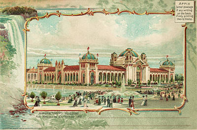 Pan-american Exposition Print by Granger