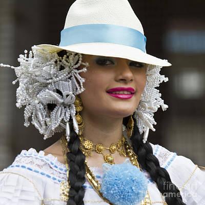 Feminin Photograph - Panama Beauty by Heiko Koehrer-Wagner
