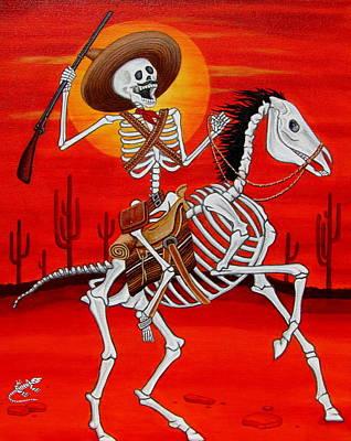 Painting - Pancho Villa by Evangelina Portillo