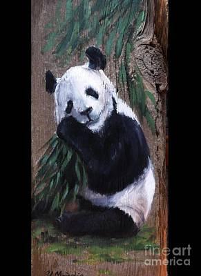 Realistic Painting - Panda by Viktoria K Majestic