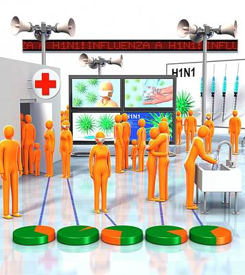 Pandemic Response Print by Animated Healthcare Ltd